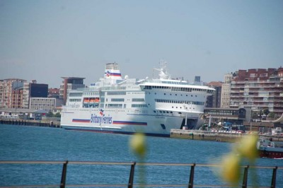 Britanny Ferries - Ferry Santander-Plymouth-Portsmouth